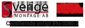 Sverigemontage AB, Certifierade enligt EN-1090-2