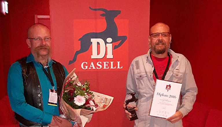 Vi är Sverigemontage AB - Fick DIs Gasellpris 2016.