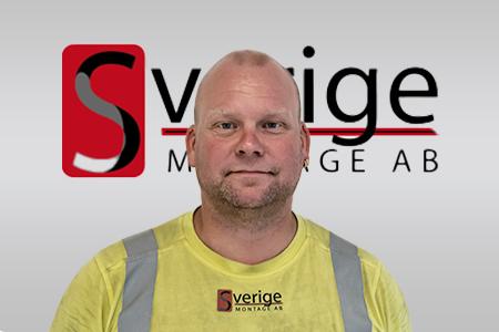 Fredrik Järviö, Arbetsledare - Sverigemontage AB
